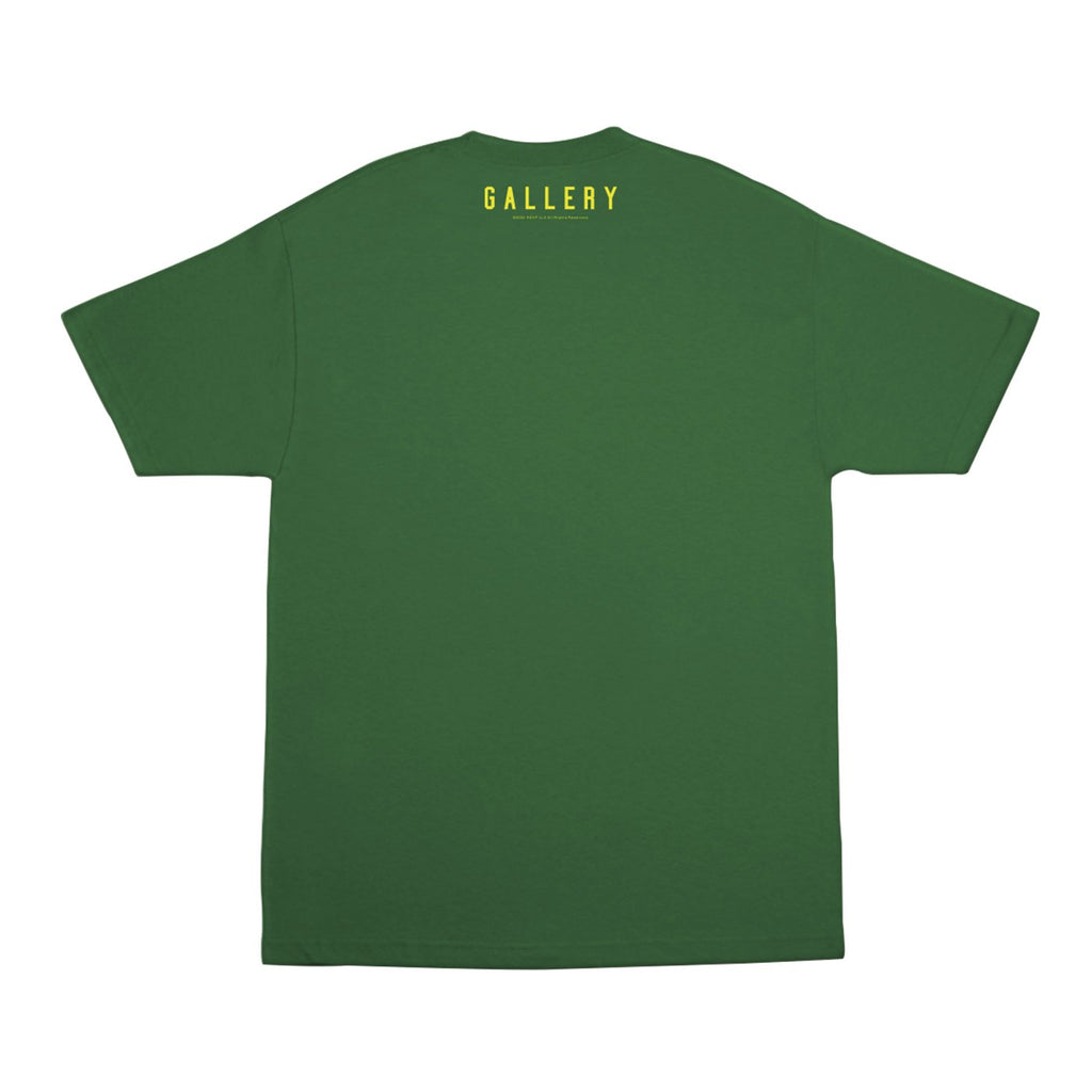 RSVP Gallery Brazil Tee, Green/Yellow