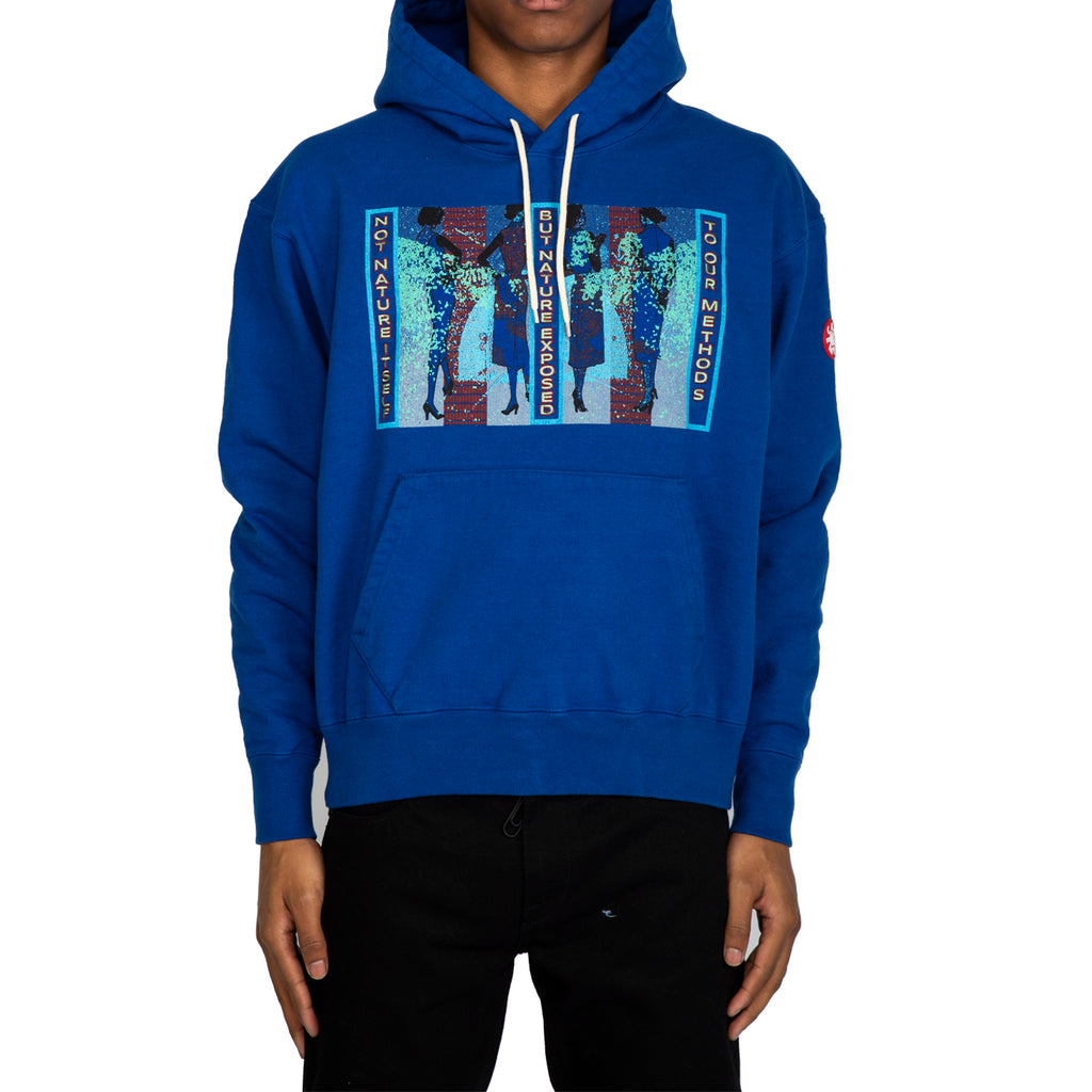 Cav Empt SS20 Not Nature Heavy Hoody, Blue