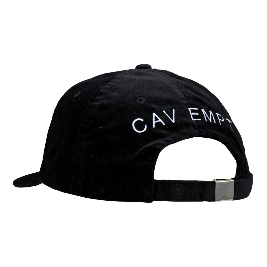 Cav Empt FW19 Waste Saddle Low Cap, Black