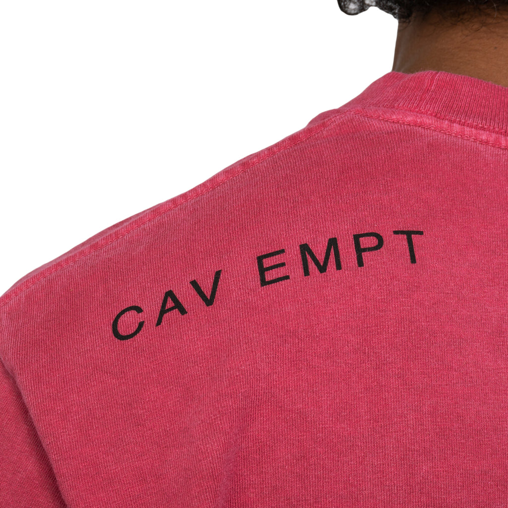 Cav Empt FW19 Overdye Uniform Choice L/S Tee, Red