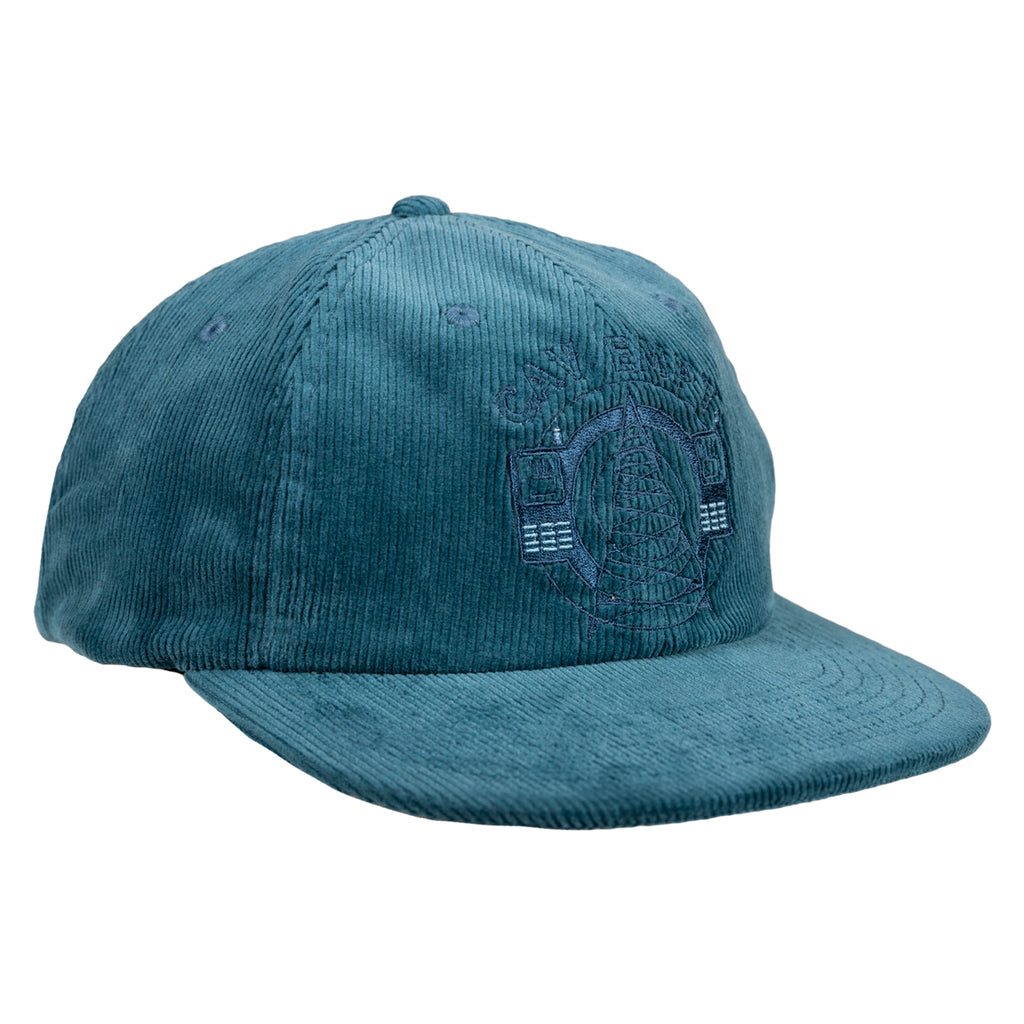 Cav Empt SS19 0305 Cord Low Cap, Blue