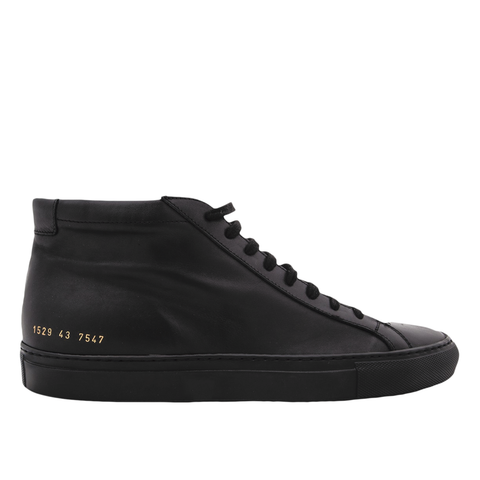 Common Projects Achilles Mid (Black)