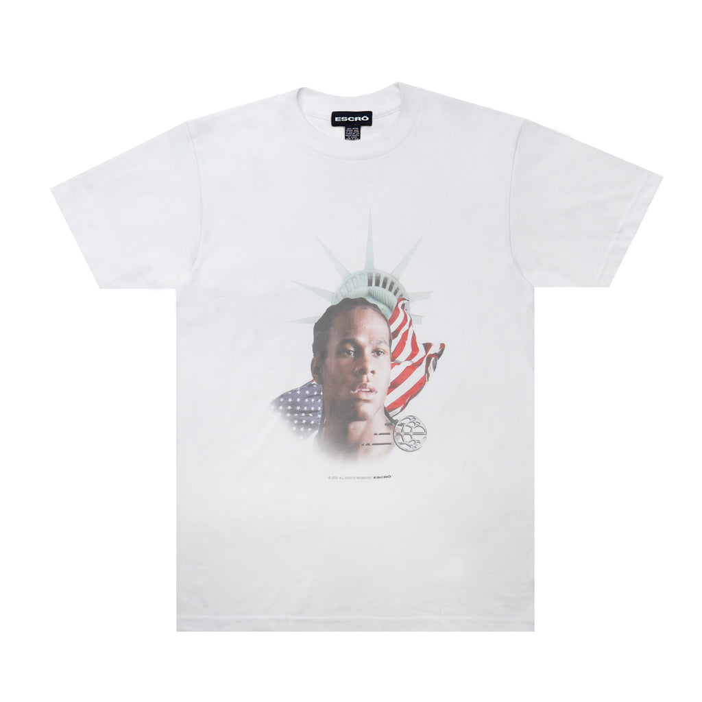 Escro Save Randy Tee, White