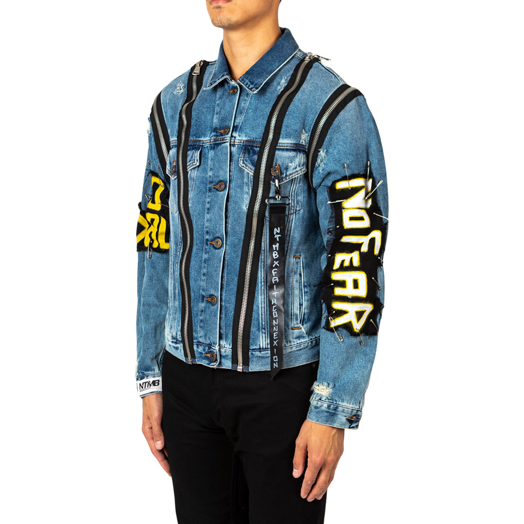 Faith Connexion Ntmb Monster Denim Jacket