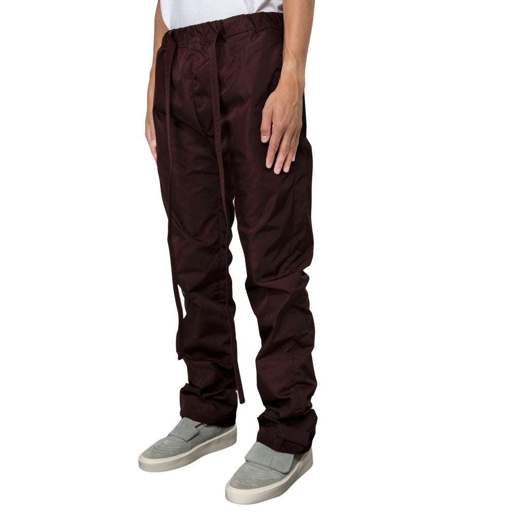 Fear of God FW19 Baggy Nylon, Merlot