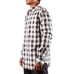 Pierre Balmain Check Shirt (Black/White)