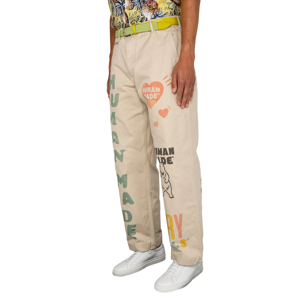Human Made FW19 Military Print Chino, Beige