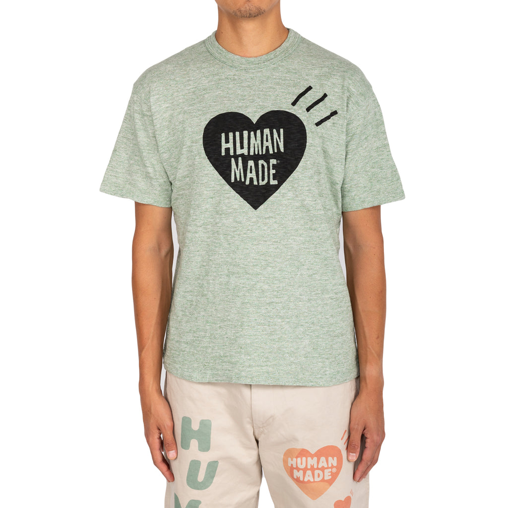 Human Made FW19 Color Heart #01 T-Shirt , Green