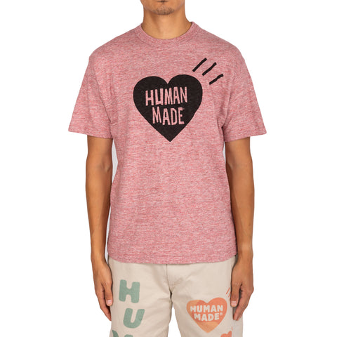 Human Made FW19 Color Heart #01 T-Shirt , Pink