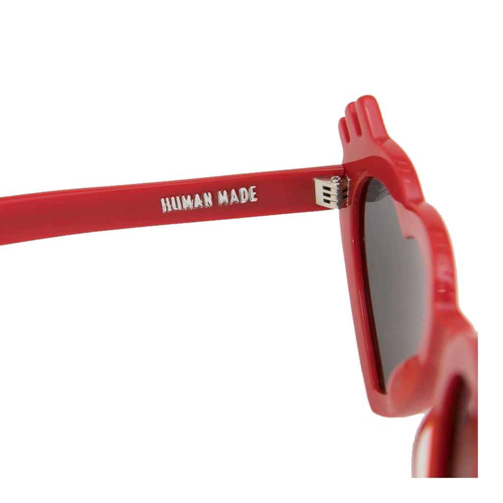 Human Made SS19 HP3 Sunglasses, Red