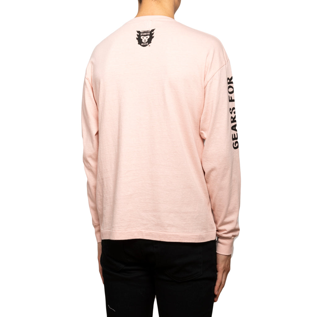 Human Made SS19 Long-T, Pink