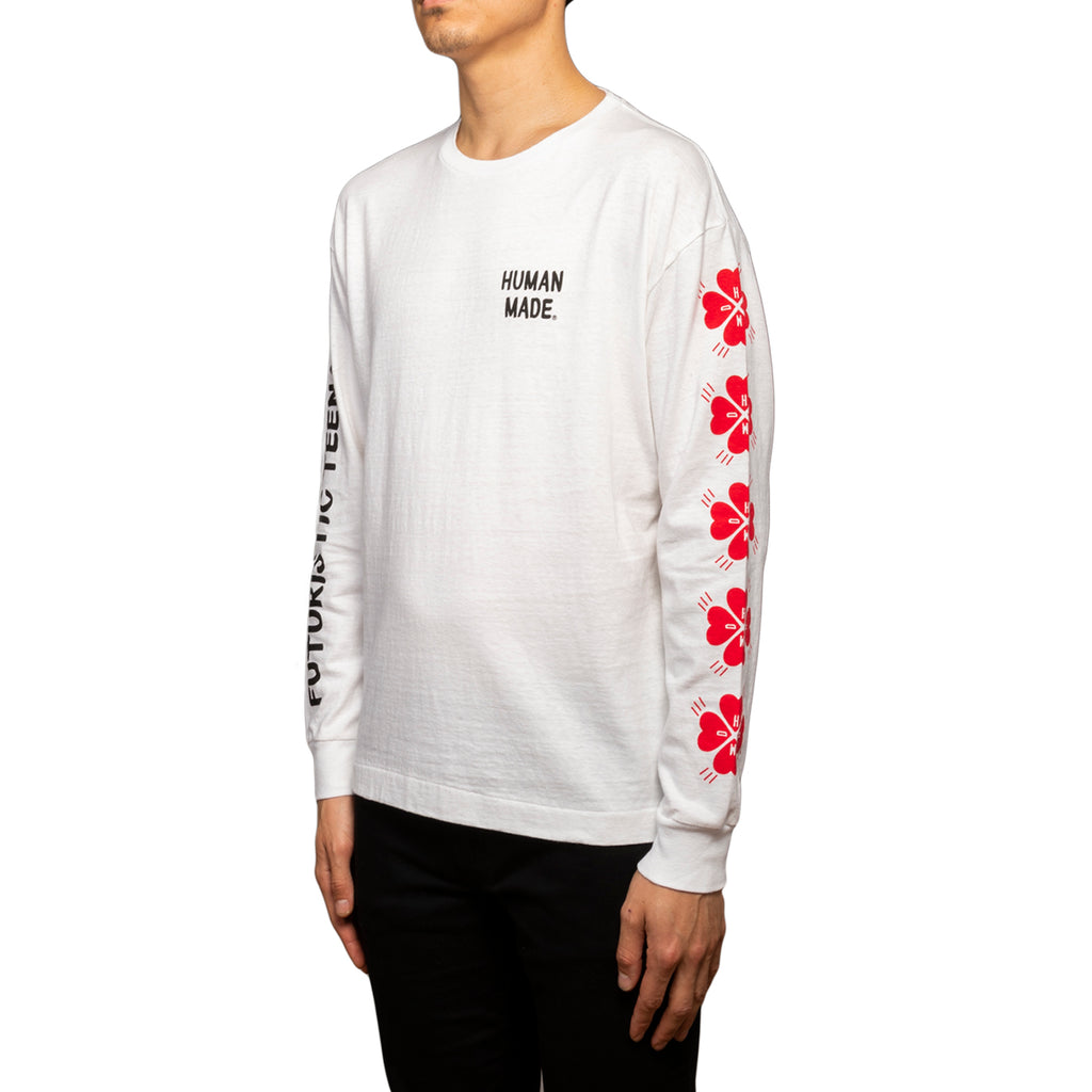 Human Made SS19 Long-T, White