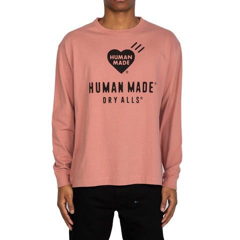 Human Made SS20 Long-T #2, Pink