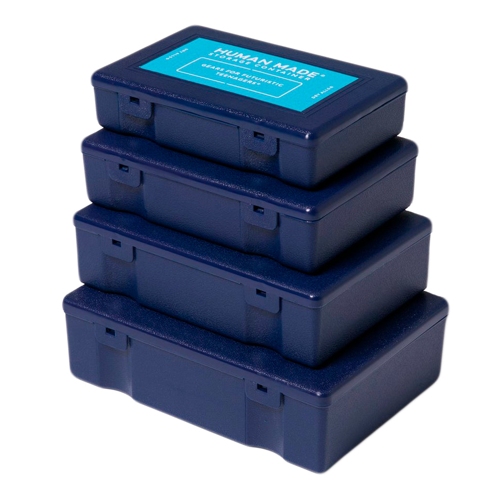 Human Made SS20 Storage Container 4P Set, Navy