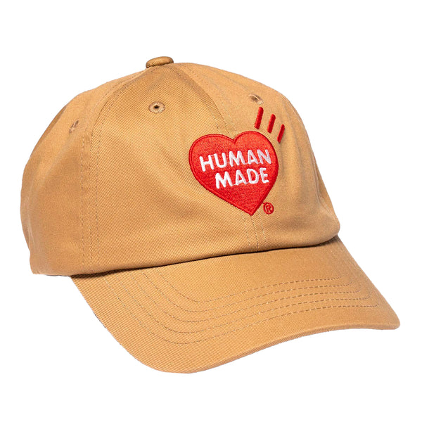 Human Made SS20 6 Panel Twill Cap #1, Beige
