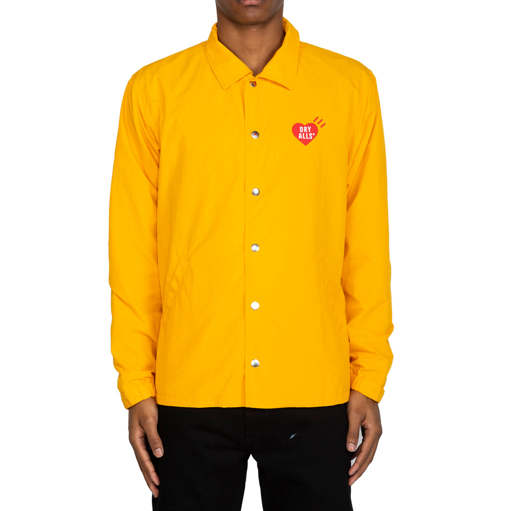 Human Made SS20 Coach Jacket Shell, Yellow