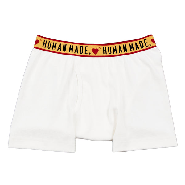 Human Made Boxer Brief, White