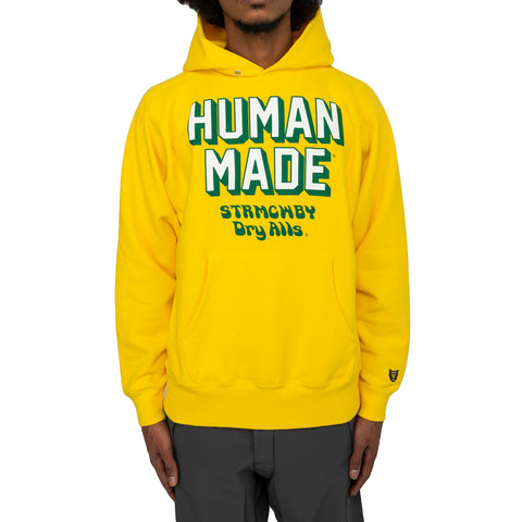 Human Made FW19 Mens Pizza Hoodie, Yellow