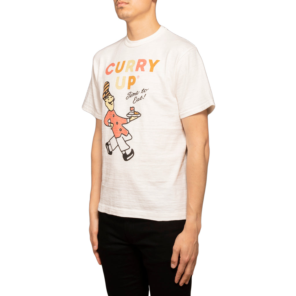 Human Made SS19 Curry Up T-shirt, White