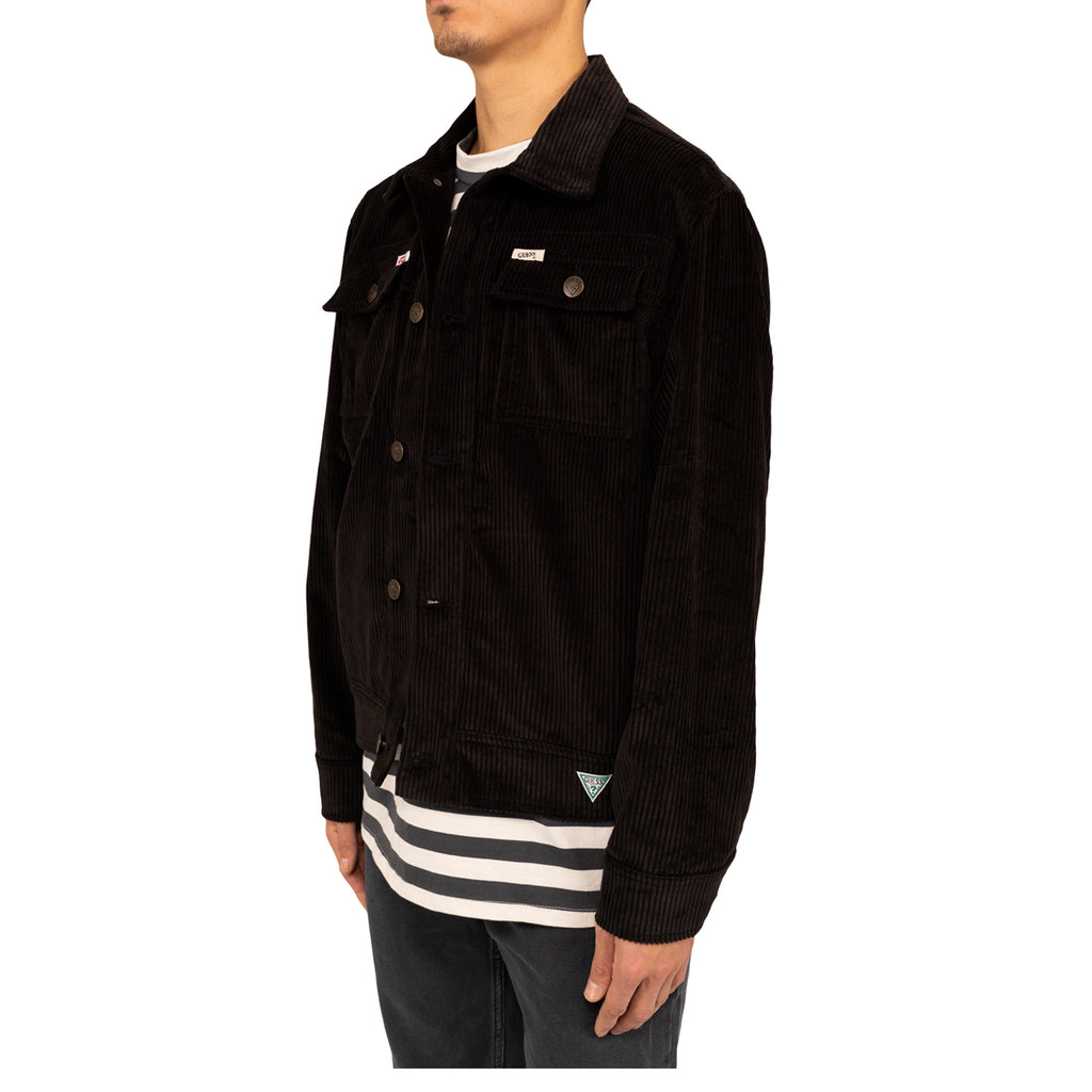 Infinite Archives x Guess Jeans L/S Worker Jacket , Black