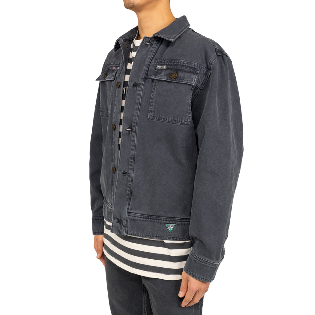 Infinite Archives x Guess Jeans L/S Worker Jacket , Night Blue