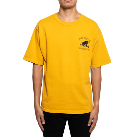 Reese Cooper FW19 Hitchhiking Tee #2 , Yellow
