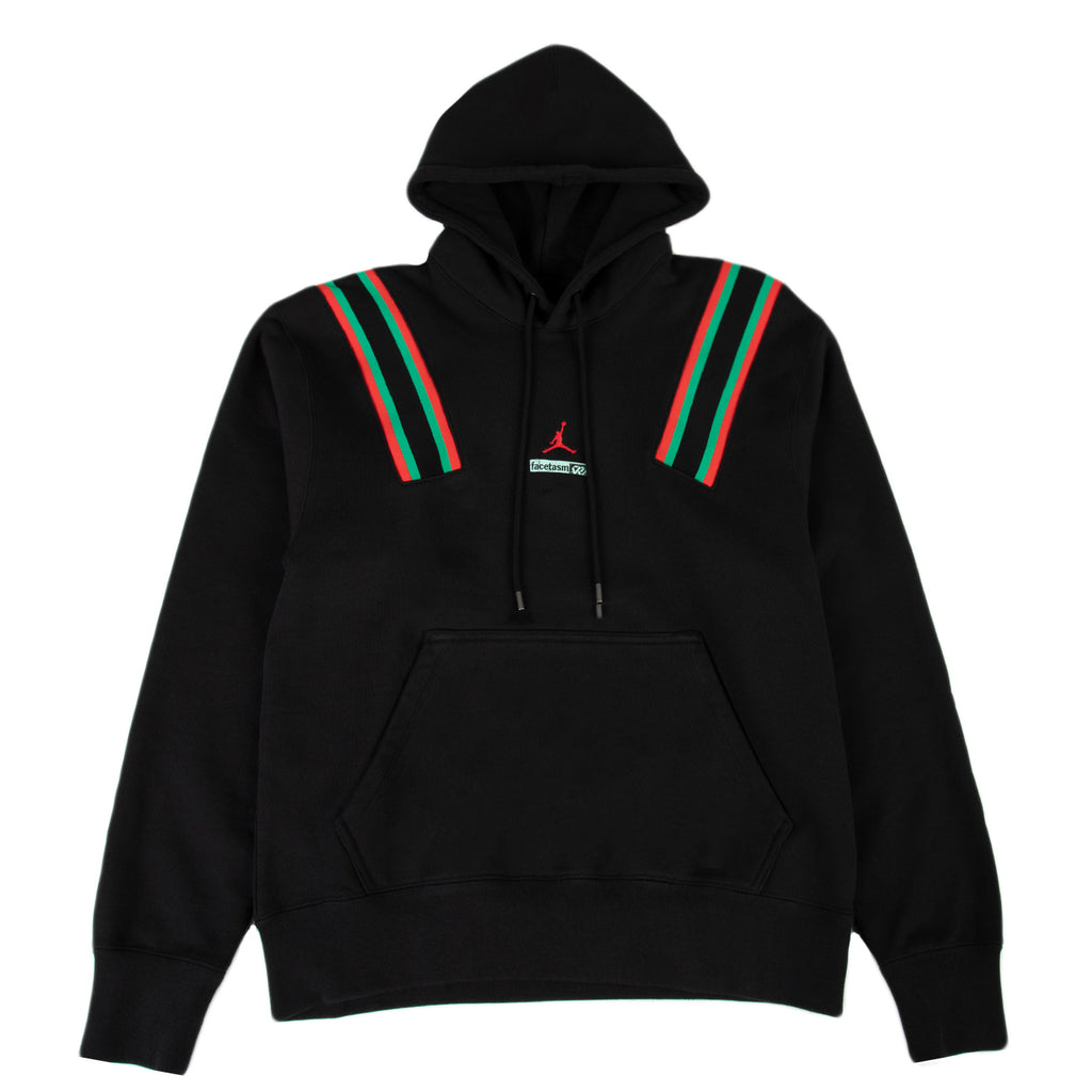 Jordan Why Not? x Facetasm Fleece Hoodie, Black/Challenge Red