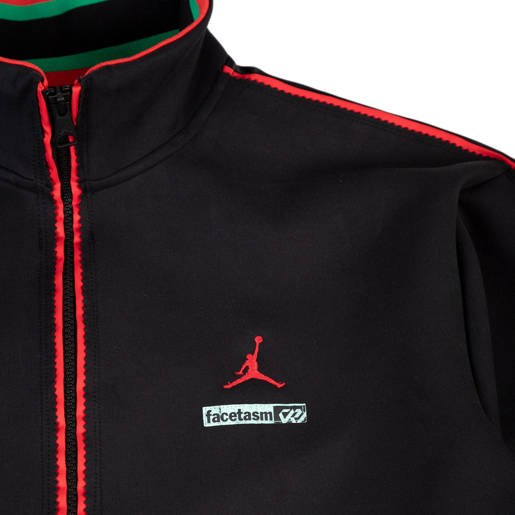 Jordan Why Not? x Facetasm Track Jacket, Black/Challenge Red
