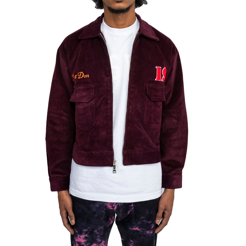 "Just Don FW19 ""all In"" Workman's Jacket , Purple"