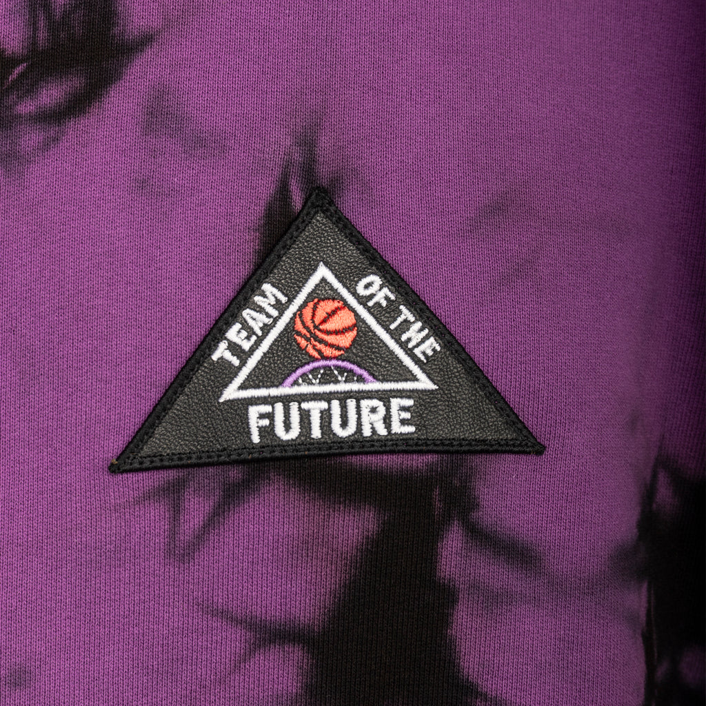 Just Don FW19 Team Of The Future Hoodie, Black/Fuschia