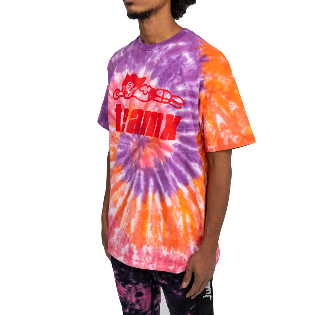 Just Don FW19 Team X Astroboy Tee, Purple/Orange