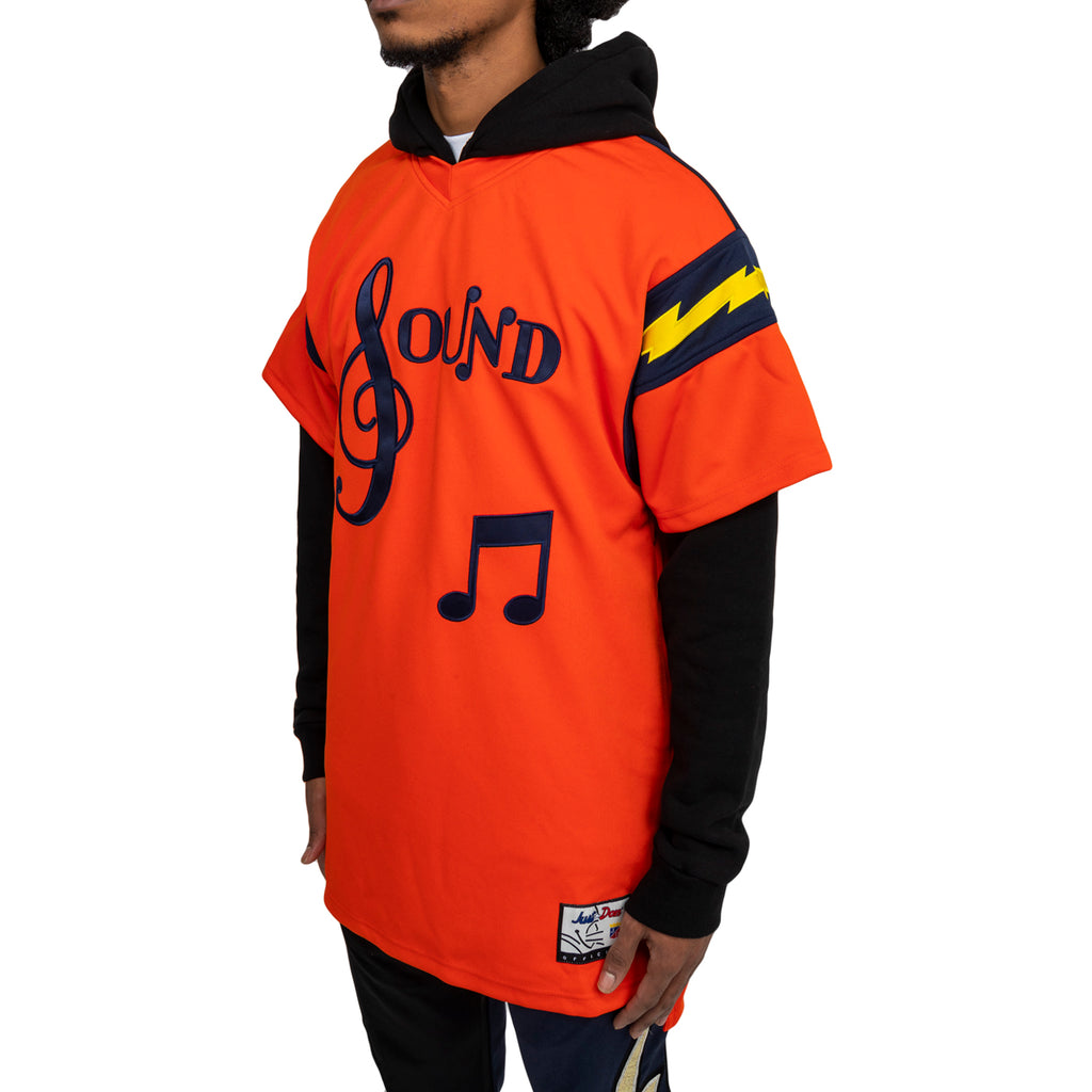 Just Don FW19 The Sound Football Jersey, Orange