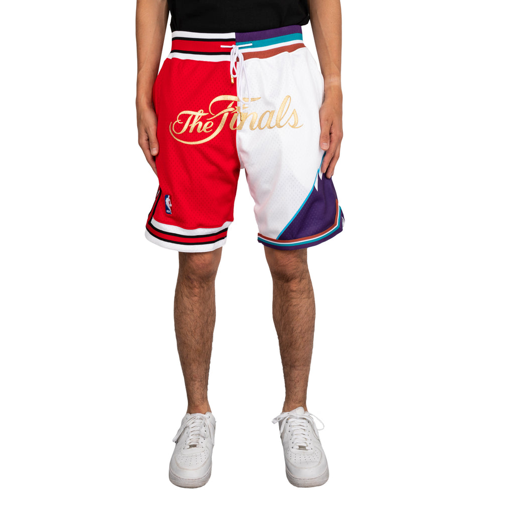 Just Don SS19 NBA Split Finals Shorts Bulls x Jazz