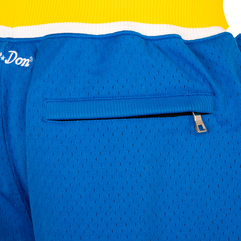 Just Don SS19 Indiana Pacers 87-88 Shorts, Blue