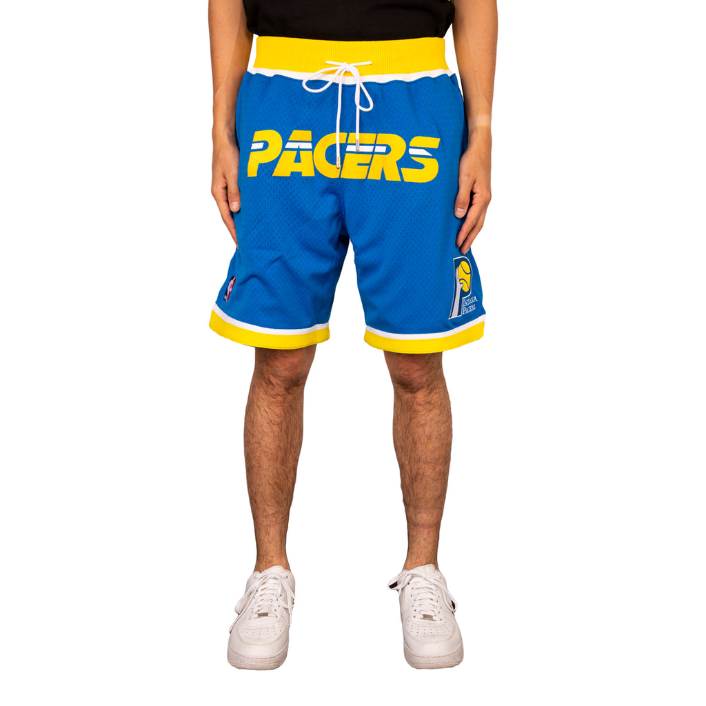 Just Don SS19 Indiana Pacers 87-88 Shorts, Blue – RSVP Gallery