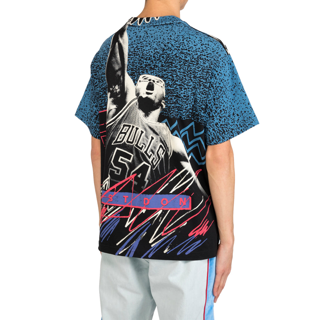 Just Don M&N Pippen & Grant Tee, Black/Multi