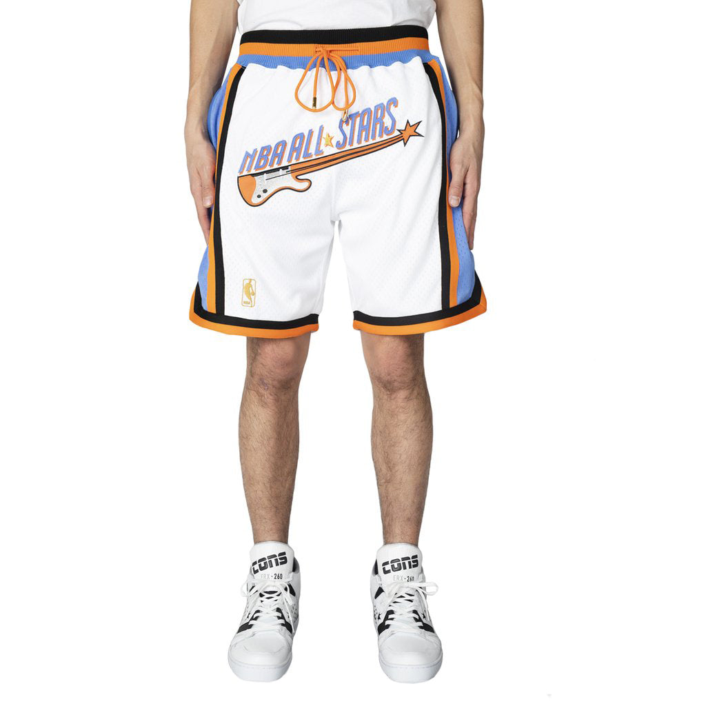Just Don 97 Cleveland Shorts, White