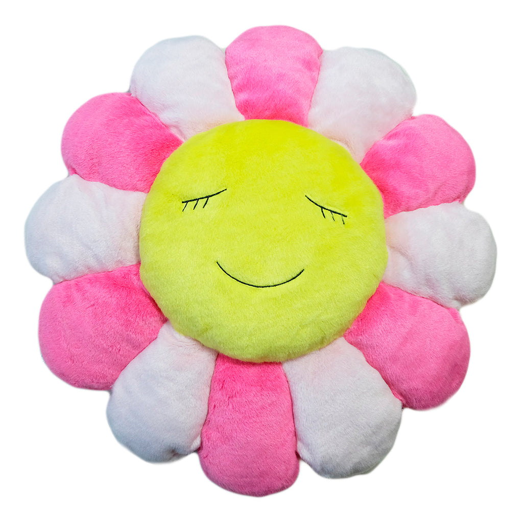 KaiKai KiKi Flower Cushion 1m, Pink/Yellow