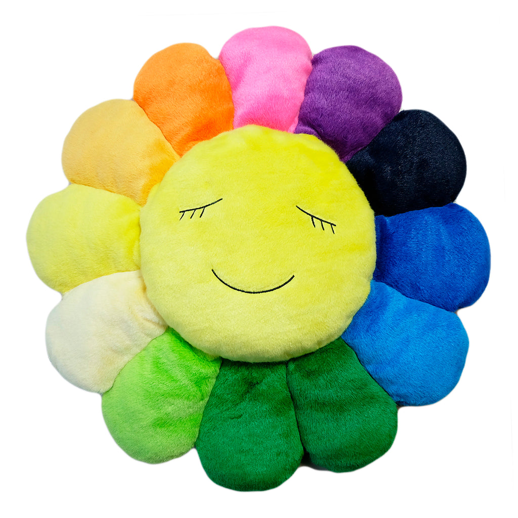 KaiKai KiKi Flower Cushion 1m, Rainbow