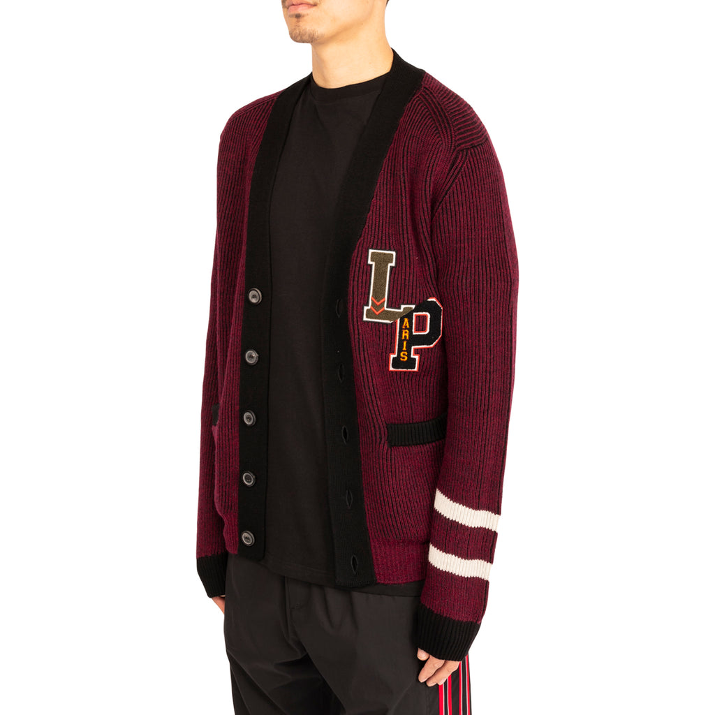 Lanvin PF19 Patched Badge Cardigan