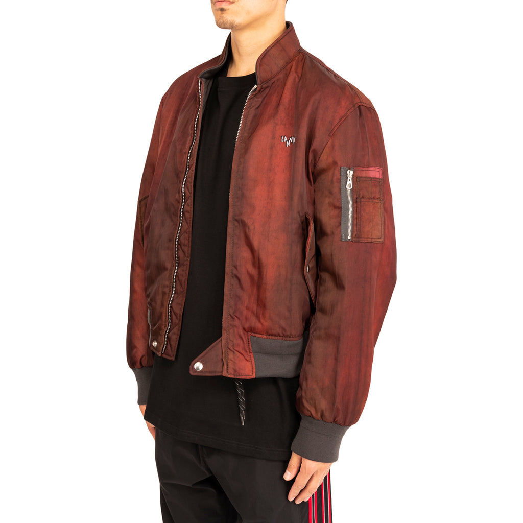 Lanvin PF19 Bomber Jacket Technique