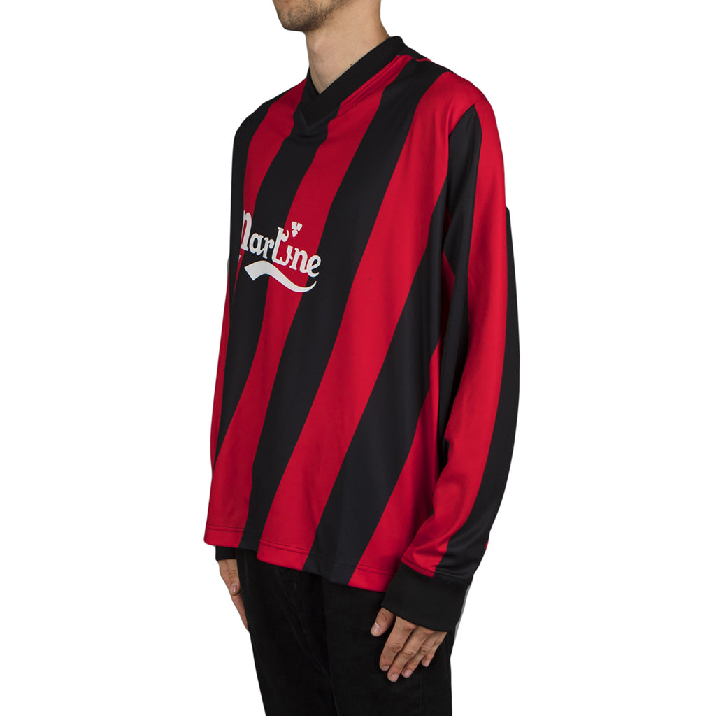 Martine Rose L/S Twist Football Top
