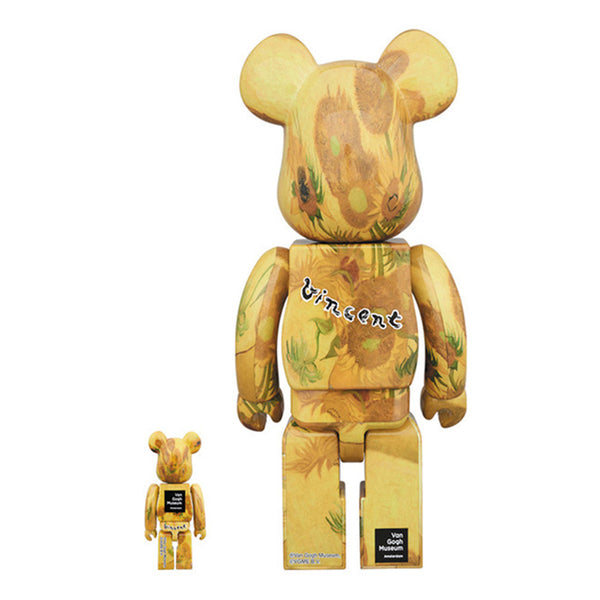 Medicom Be@rbrick Van Gogh Museum Sunflowers Set