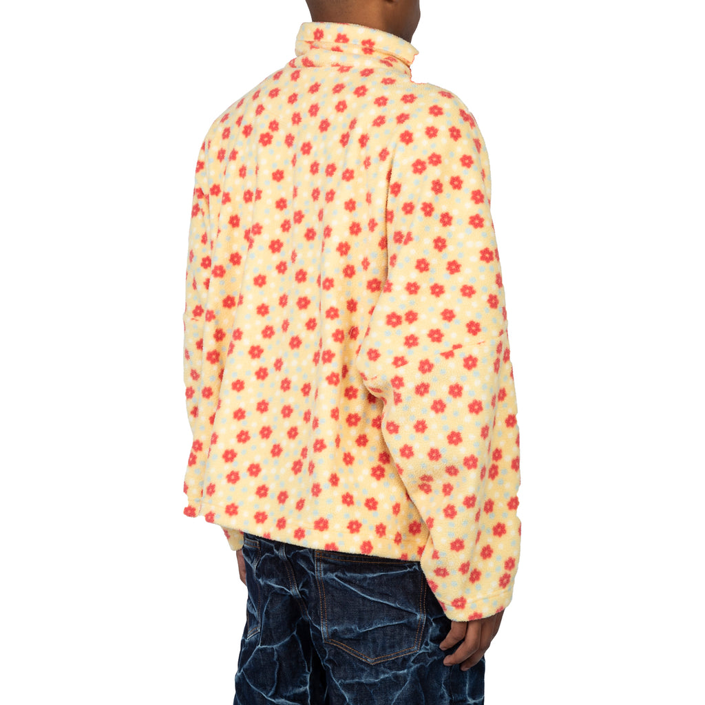 Martine Rose SS20 Batwing Fleece Top, Yellow Daisy