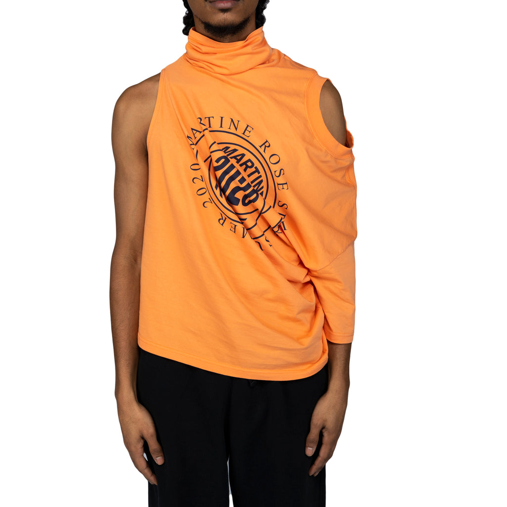Martine Rose SS20 Two Way T-Shirt, Orange