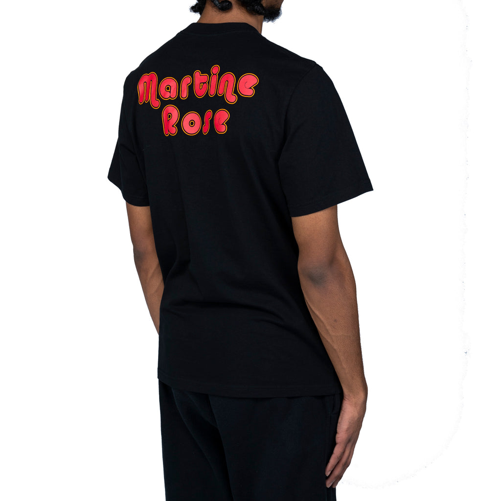 Martine Rose SS20 Clown Artwork T-Shirt, Black