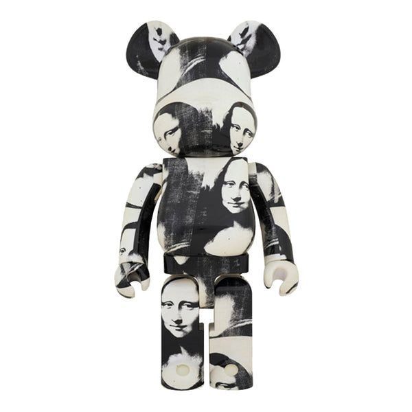 "Medicom Be@rbrick Andy Warhol ""Double Mona Lisa"", Black/White"