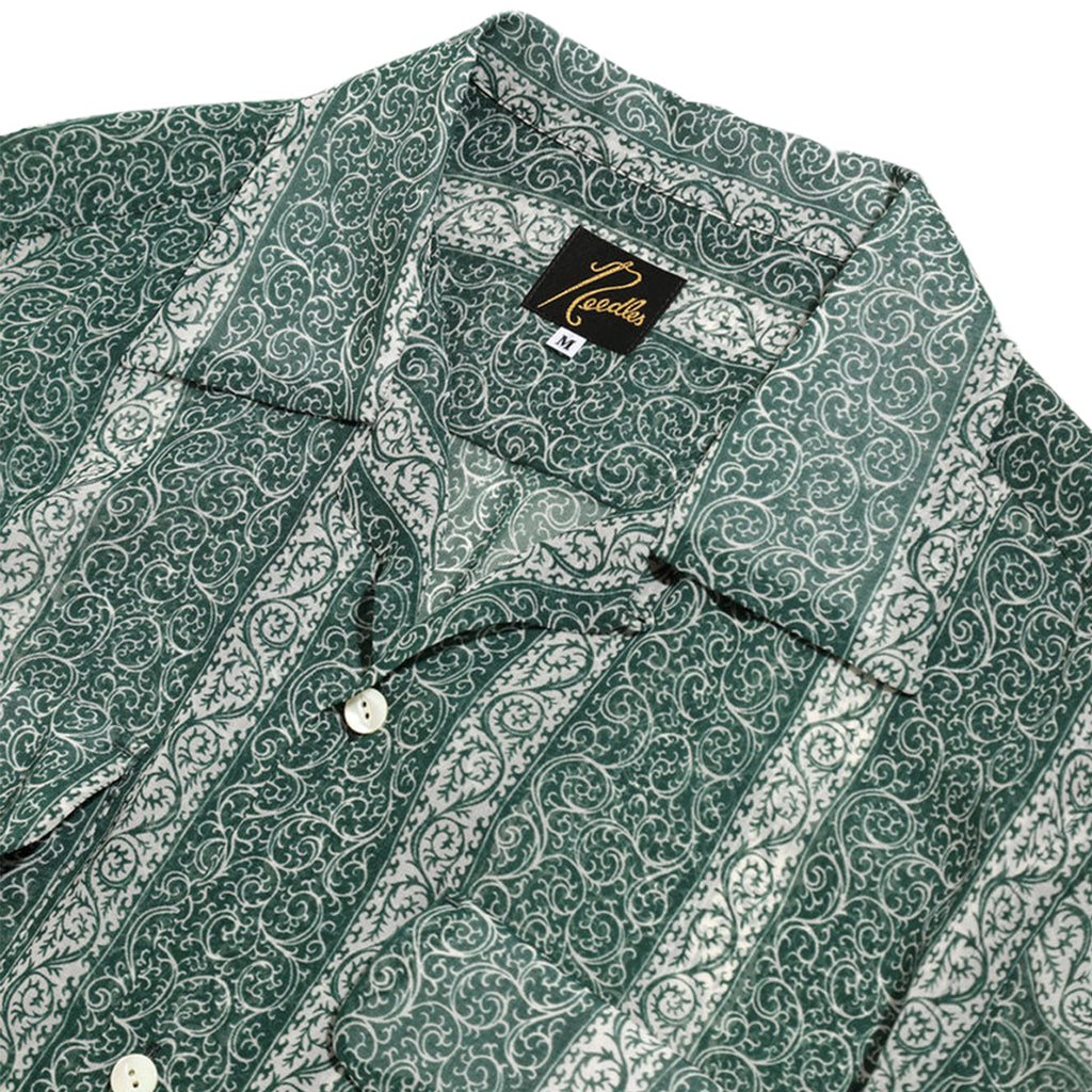 Needles SS21 C.O.B. Classic Shirt, Arabesque St.