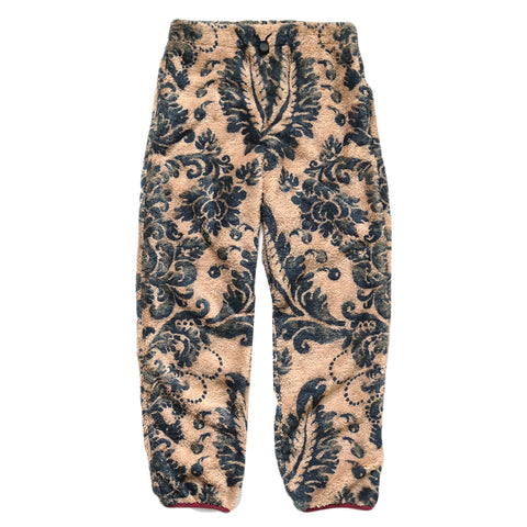 Kapital FW20 DAMASK Fleece Easy Pants, Beige
