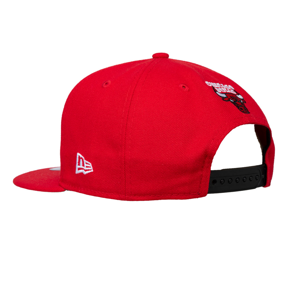 Louis De Guzman x New Era Chicago Bulls ASW 2020 Hat, Red